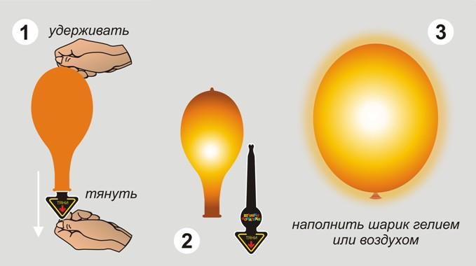 Светодиодные шары своими руками